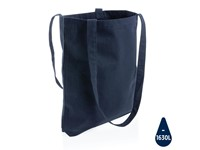 Impact AWARE™ Recycled katoenen draagtas, donkerblauw