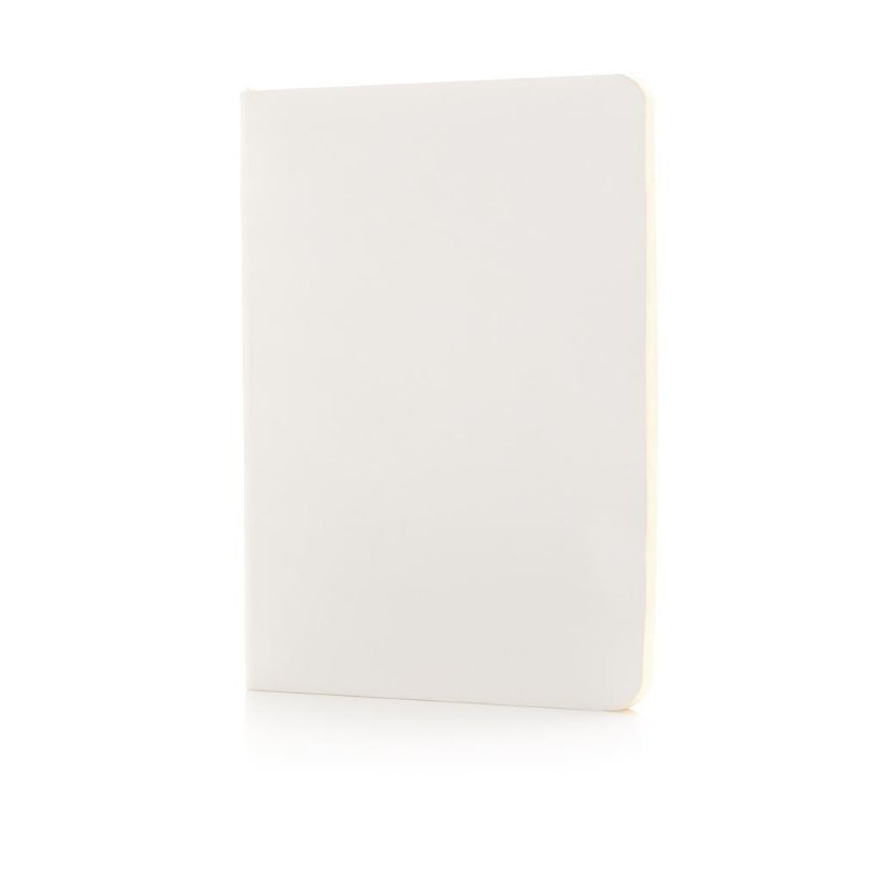 Flexibel notitieboekje met softcover, wit