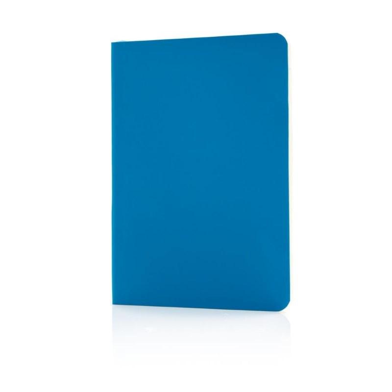 Flexibel notitieboekje met softcover, blauw