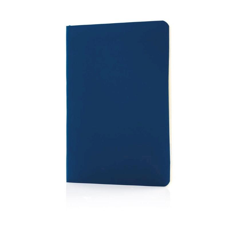 Flexibel notitieboekje met softcover, donkerblauw