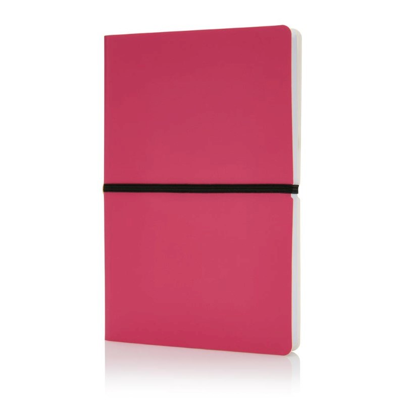 Deluxe softcover A5 notitieboek, roze