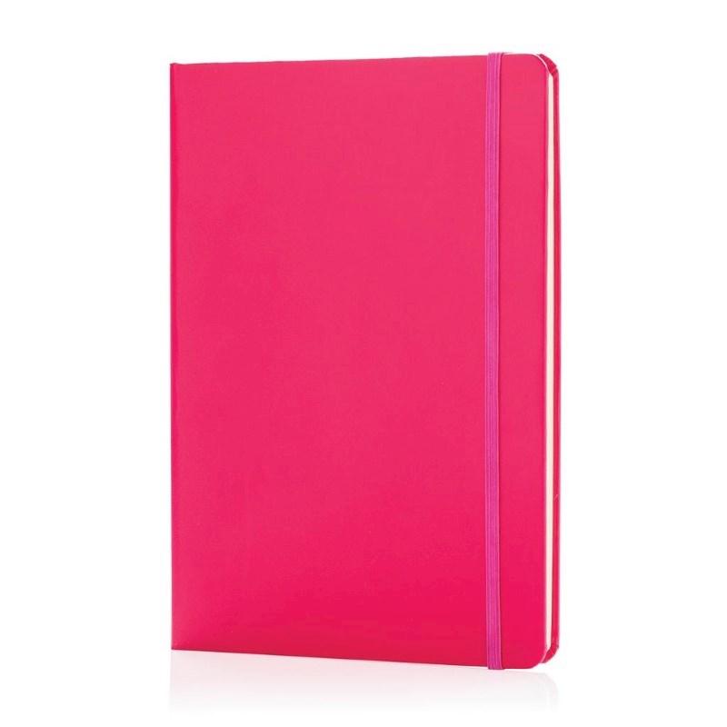 A5 hardcover notitieboek, roze