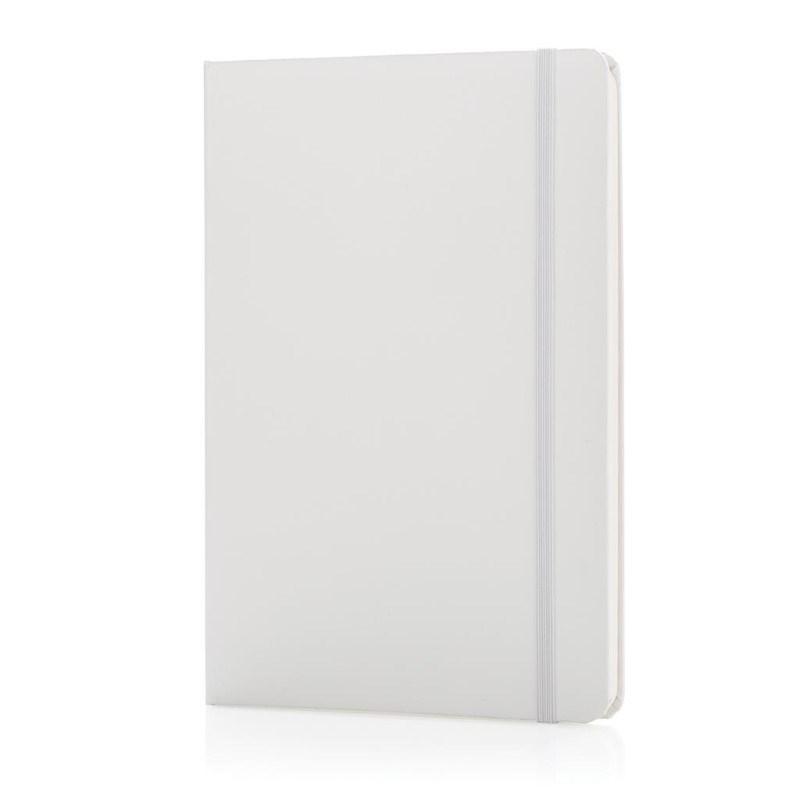 A5 hardcover notitieboek, wit