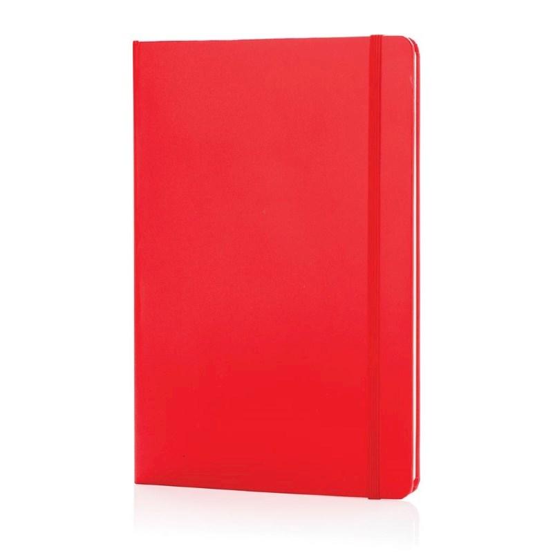 A5 hardcover notitieboek, rood