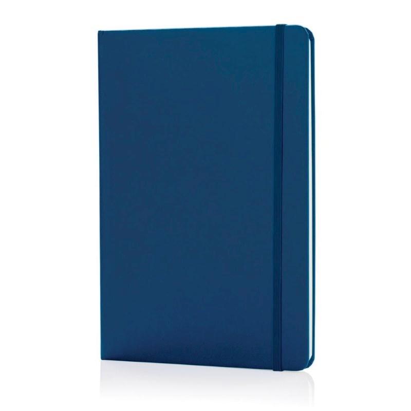 A5 hardcover notitieboek, blauw