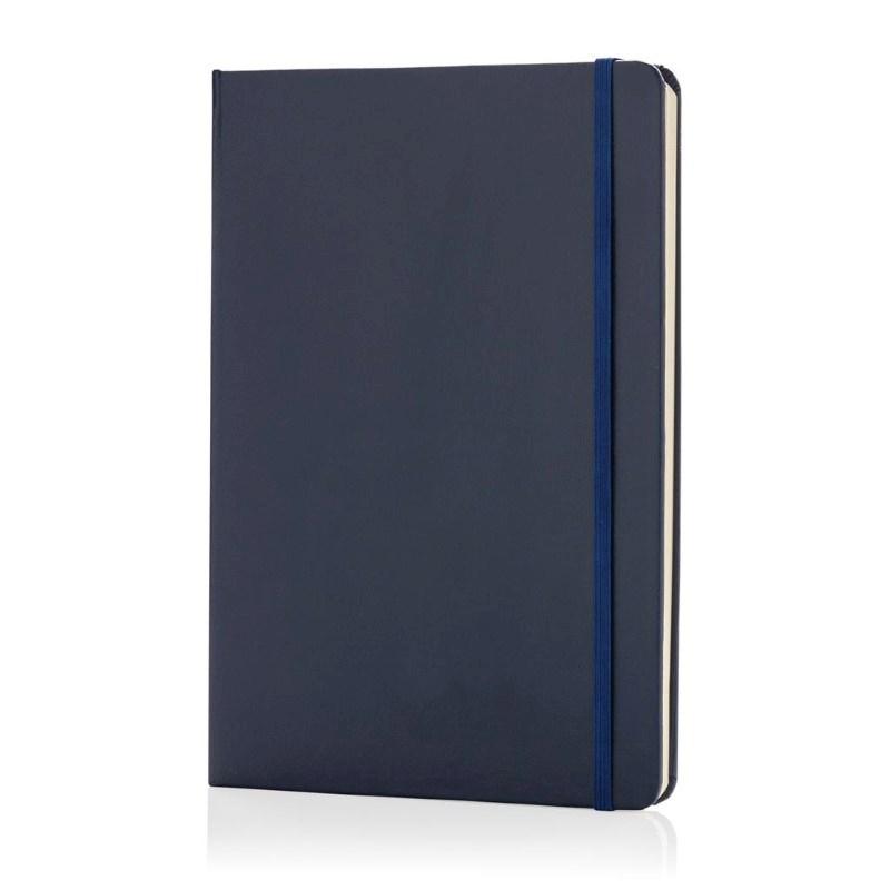 A5 hardcover notitieboek, donkerblauw