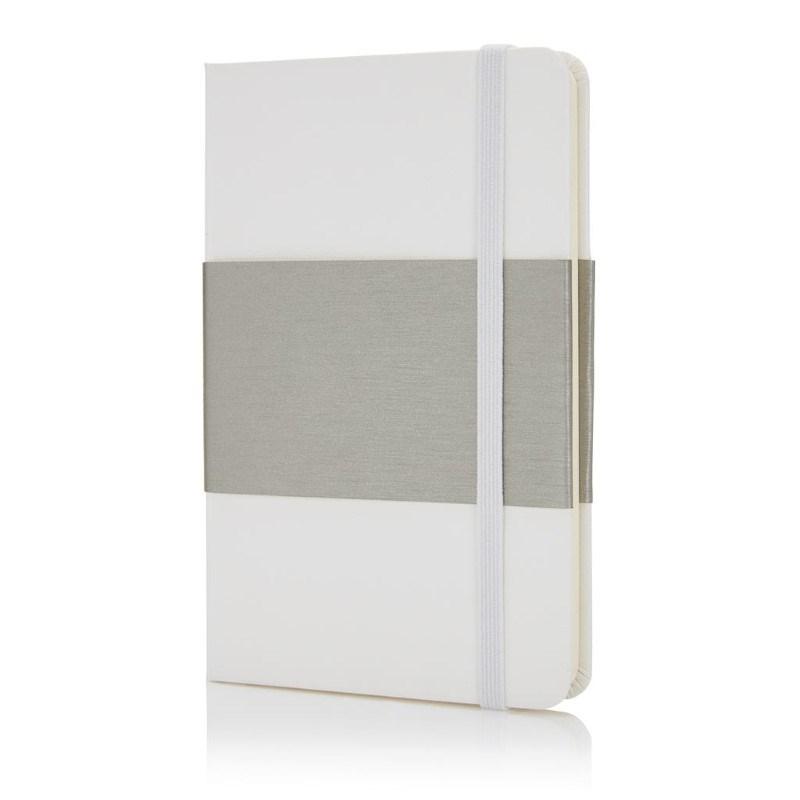 Deluxe hardcover A6 notitieboek, wit
