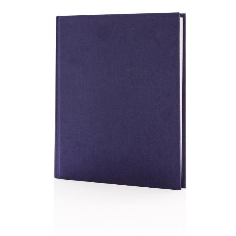 Deluxe notitieboek 170x200mm, paars