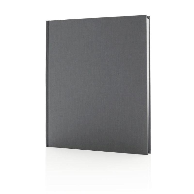 Deluxe notitieboek 210x240 mm, grijs