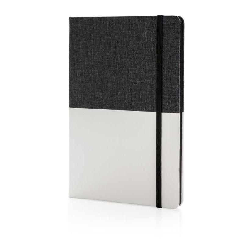 Deluxe A5 PU notitieboek, zwart
