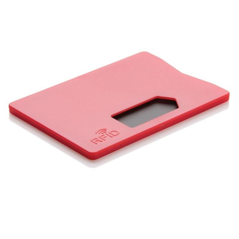 RFID anti-skimming kaarthouder, rood