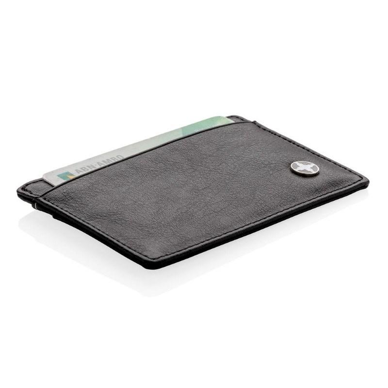 RFID anti-skimming kaarthouder, zwart