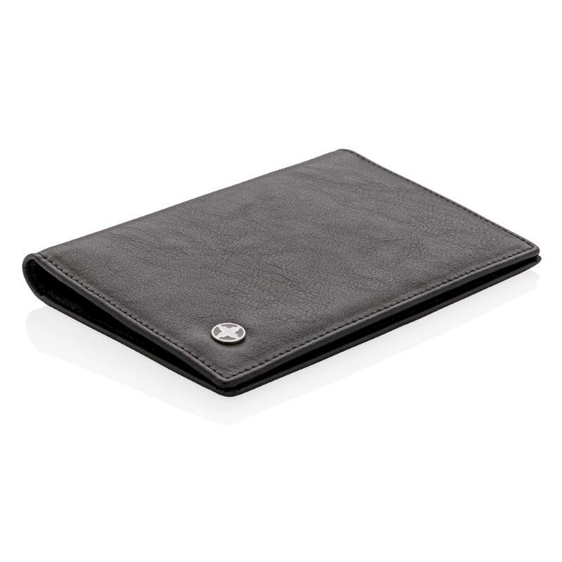 RFID anti-skimming paspoort houder, zwart