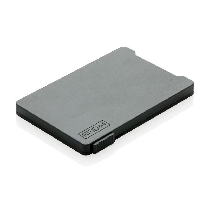 Kaarthouder met RFID anti-skimming, zwart