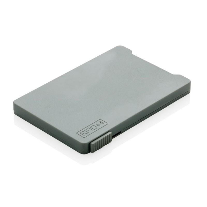 Kaarthouder met RFID anti-skimming, grijs