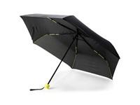 "21"" fiberglas gekleurde opvouwbare paraplu, groen"