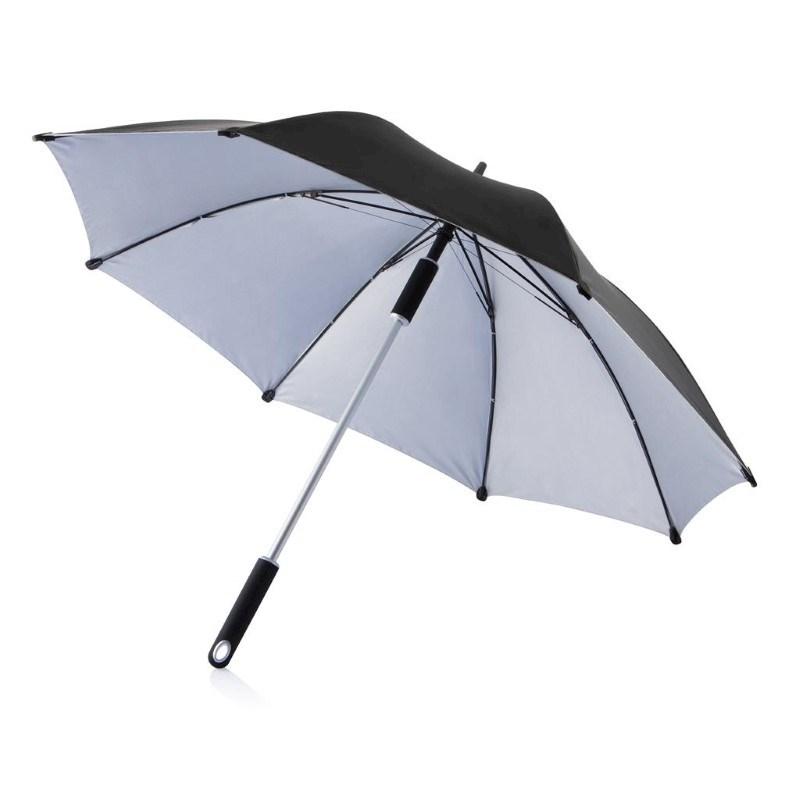 """23"""" Hurricane paraplu, zwart"""
