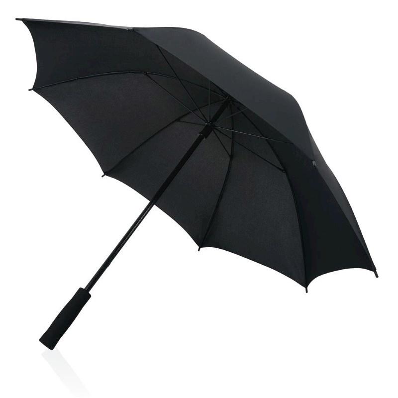 Fiberglas 23'' storm paraplu, zwart
