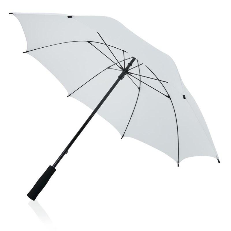Fiberglas 23'' storm paraplu, wit