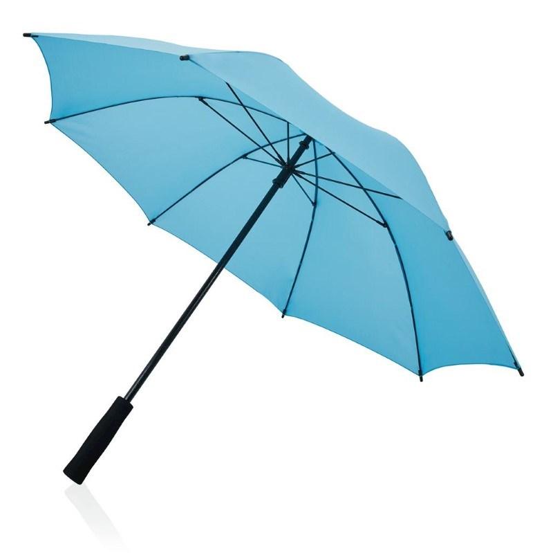 Fiberglas 23'' storm paraplu, blauw