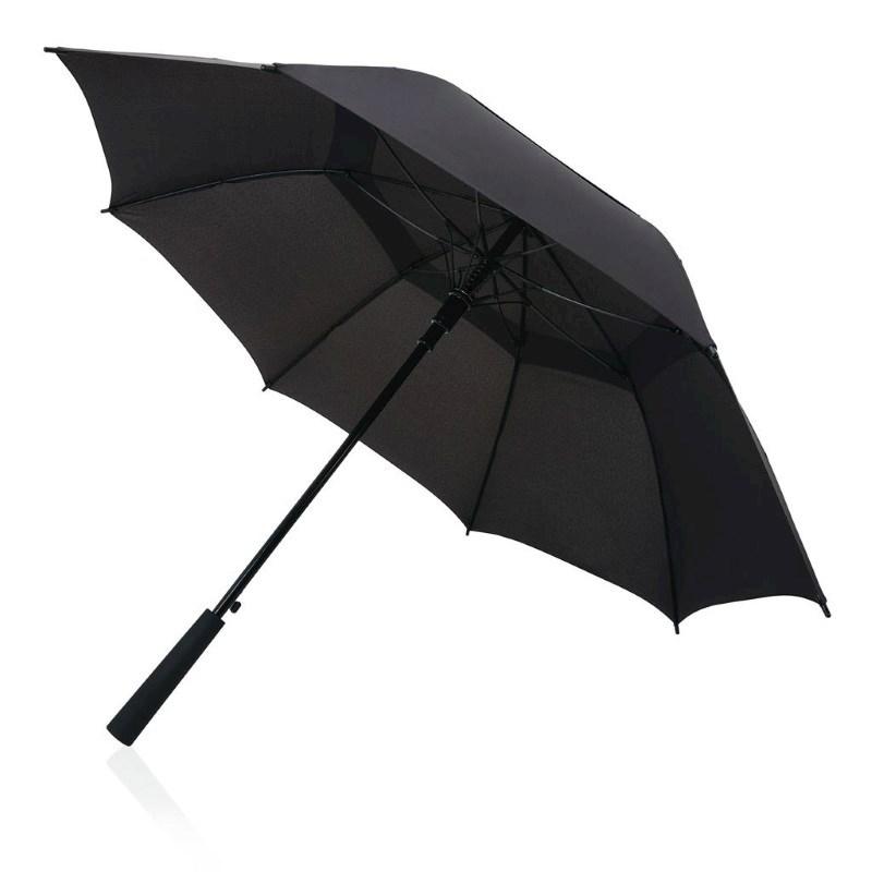 """Tornado 23"""" storm paraplu, zwart"""