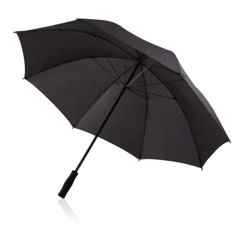 """Deluxe 30"""" storm paraplu, zwart"""