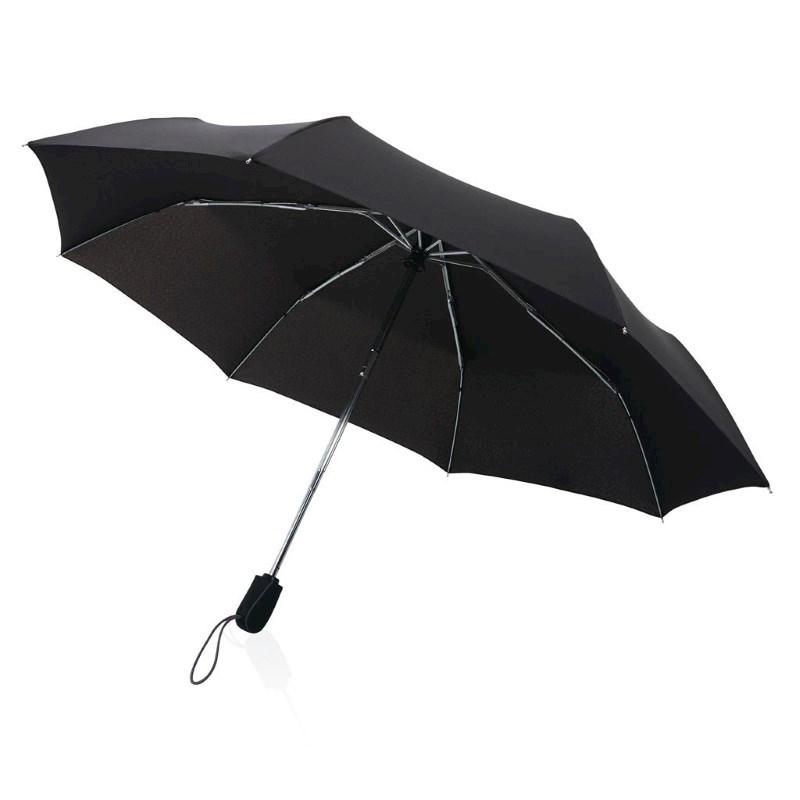 """Traveler 21"""" automatische paraplu, zwart"""