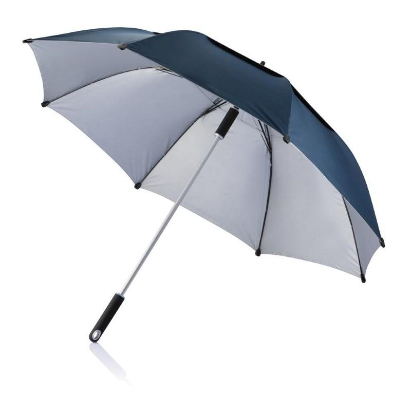 "27"" Hurricane storm paraplu, blauw"