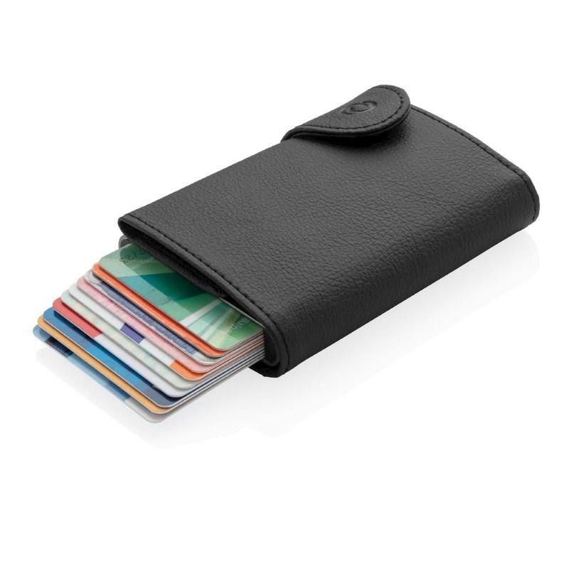 C-Secure XL RFID-kaarthouder & portemonnee, zwart