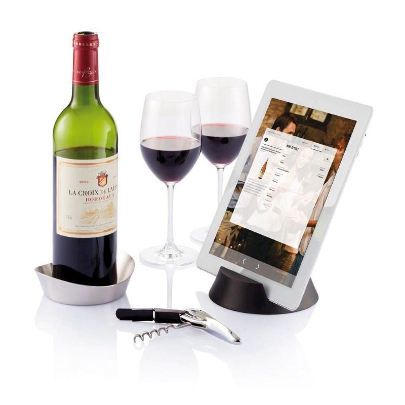 Airo Tech wijn set, zilver
